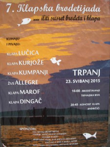 7. klapska brodetijada, Pelješac (23. svibanj 2015.)