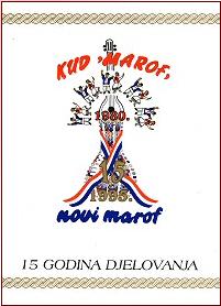 Monografija - 15 godina KUD-a