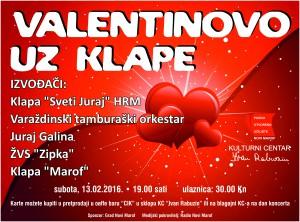 "Valentinovo uz klape (KC ""Ivan Rabuzin"", 2016.)"