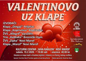 "Valentinovo uz klape (15.2.2020., KC ""Ivan Rabuzin"")"
